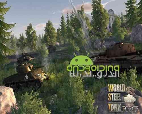 دانلود World Of Steel Tank Force 1.0.5 بازی اکشن قدرت تانک ها برای اندروید 4