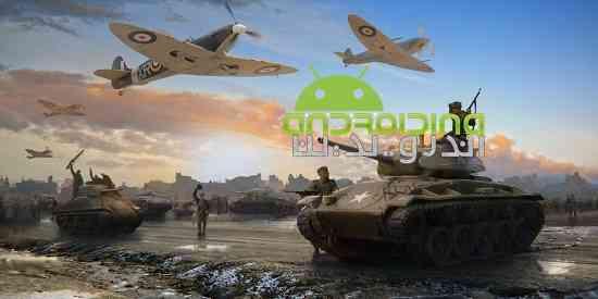 World at War: WW2 Strategy MMO - بازی جهان در جنگ: استراتژی