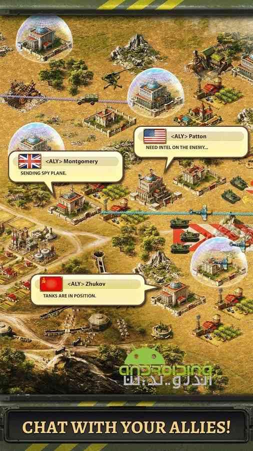 دانلود World at War : WW2 Strategy MMO 2.7.0 بازی انلاین جهان در جنگ: استراتژی اندروید 4