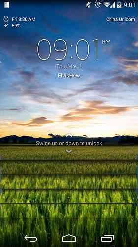 دانلود Xperia Z Lockscreen v2.0.0 لاک اسکرین اکسپریا اندروید 3