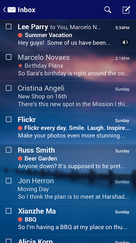 دانلود Yahoo Mail 5.17.1 اپلیکیشن ارتباط و مدیریت ایمیل یاهو اندروید 3