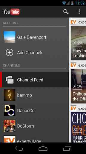 YouTube نرم افزاری رسمی شرکت گوگل یوتیوب با رابط کاربری جدید و پیشرفته