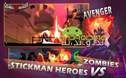 Zombie Avengers: Stickman War Z - بازی انتقام جویان زامبی: نبرد استیکمن
