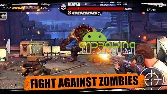 Zombie Crisis - بازی سرگرم کننده بحران زامبی