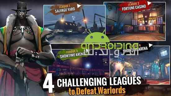 دانلود Zombie Fighting Champions 0.0.21 بازی قهرمانان مبارز زامبی اندروید 3