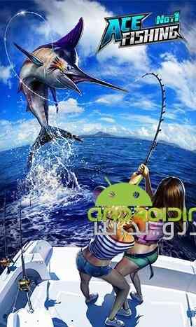 دانلود Ace Fishing Wild Catch 2.7.5 بازی ماهیگیری اندروید 2