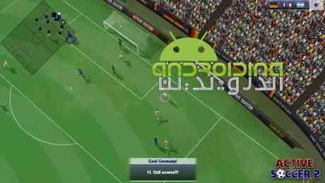 دانلود Active Soccer 2 DX 1.0.3 بازی فوتبال فعال 2 اندروید 2