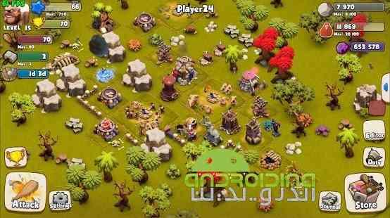 دانلود Age of Cavemen 2.0.3 بازی انلاین دوران غارنشینی اندروید 2