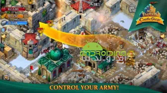 دانلود Age of Empires Castle Siege 1.24.3 بازی دوران امپراطوری، محاصره قلعه 1