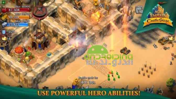 دانلود Age of Empires Castle Siege 1.24.3 بازی دوران امپراطوری، محاصره قلعه 4