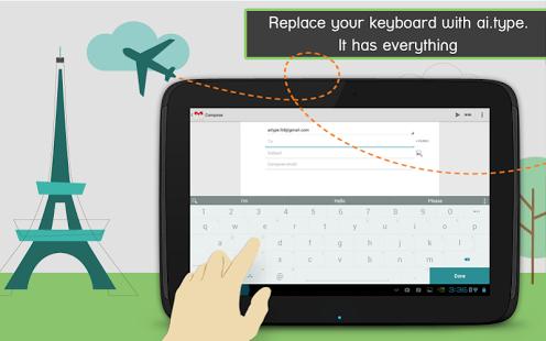 ai.type keyboard Plus + Emoji | کیبرد هوشمند با قابلیت پشتیبانی از زبان فارسی