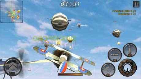 دانلود Air Battle World War 1.0.15 بازی نبردهوایی، جنگ جهانی اندروید 2