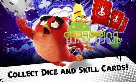 دانلود Angry Birds Dice 1.1.100347 بازی پرندگان خشمگین، تاس اندروید + دیتا 3