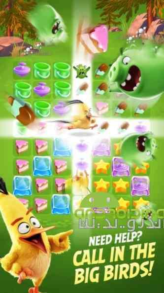 Angry Birds Match – تطابق پرندگان خشمگین اندروید