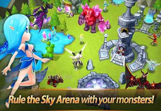 دانلود Summoners War Sky Arena 3.4.5 بازی ماموران جنگ آسمان آتش اندروید 2