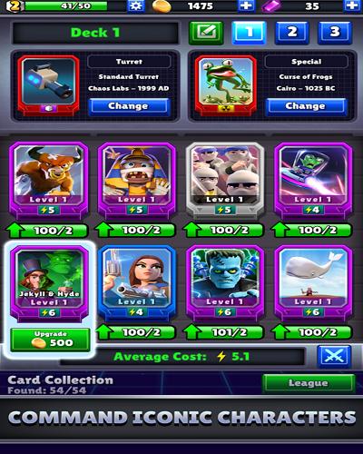 دانلود Chaos Battle League 1.4.0 بازی آنلاین نبرد هرج و مرج اندروید 2