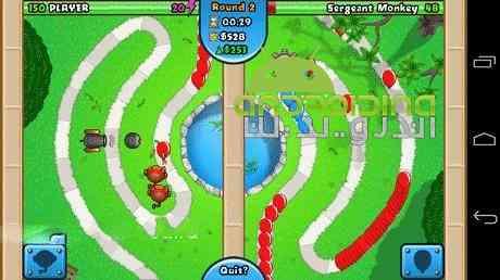 دانلود Bloons TD Battles 4.3.1 بازی نبرد بالن ها اندروید + مود 2