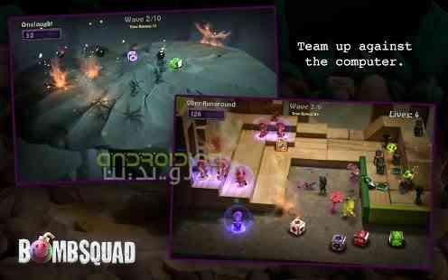 دانلود BombSquad 1.4.111 بازی جذاب تیم بمب اندروید 3