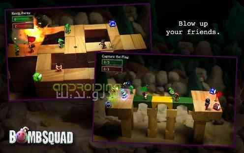دانلود BombSquad 1.4.111 بازی جذاب تیم بمب اندروید 4