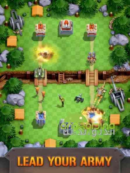 دانلود Boom Force War Game 1.14.2 بازی انلاین نیروی غرش، بازی جنگ اندروید 2