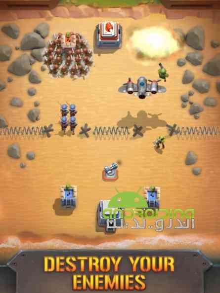 دانلود Boom Force War Game 1.14.2 بازی انلاین نیروی غرش، بازی جنگ اندروید 3