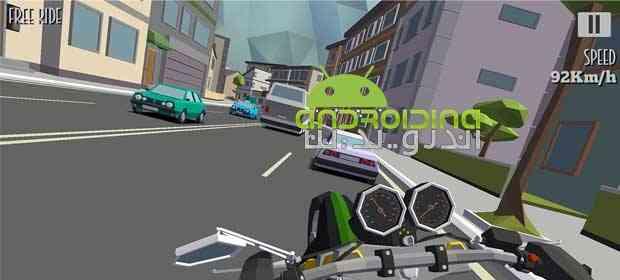 دانلود Cafe Racer 1.021 بازی مسابقات موتور کافه اندروید 1