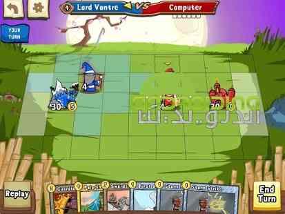 دانلود Cards and Castles 3.3.68 بازی انلاین کارت ها و قلعه ها اندروید 2