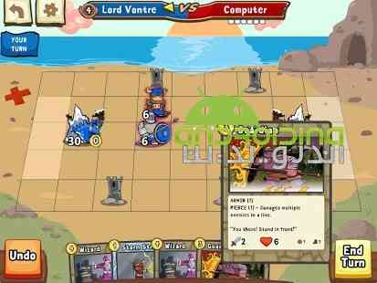 Cards and Castles – کارت ها و قلعه ها اندروید