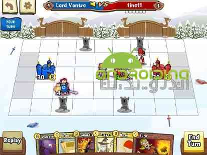 دانلود Cards and Castles 3.3.68 بازی انلاین کارت ها و قلعه ها اندروید 4
