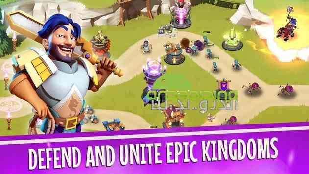 دانلود Castle Creeps TD 1.29.0 بازی انلاین قلعه خزندگان اندروید 2