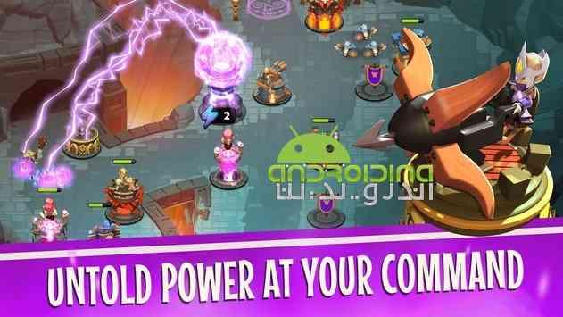 دانلود Castle Creeps TD 1.29.0 بازی انلاین قلعه خزندگان اندروید 3