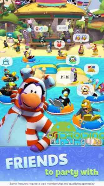 Club Penguin Island – جزیره باشگاه پنگوئن ها اندروید
