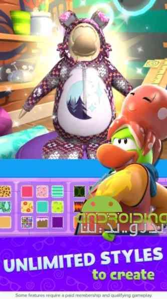 دانلود Club Penguin Island 1.6.1 بازی جزیره باشگاه پنگوئن ها اندروید + دیتا 2