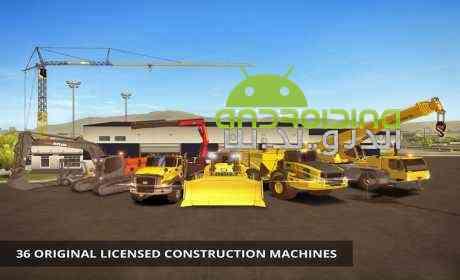 دانلود Construction Simulator 2 v1.09 بازی شبیه ساز ساخت و ساز 2 اندروید + دیتا 3