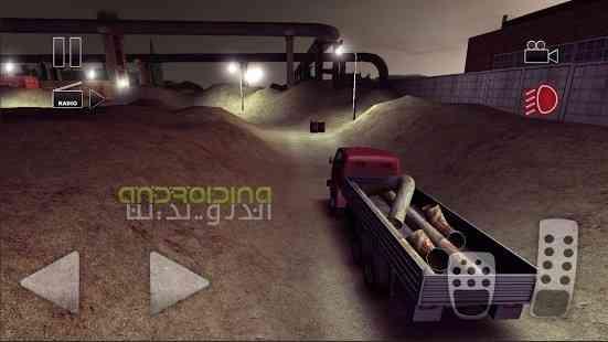 دانلود Truck Driver crazy road 1.2.08 بازی کامیون رانی در جاده های دیوانه وار اندروید 3