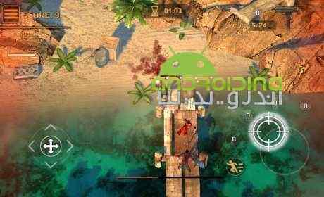 Zombie Outbreak - بازی شیوع بیماری خطرناک