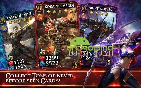 دانلود Deck Heroes Legacy 10.6.0 بازی میراث قهرمانان عرشه اندروید 2