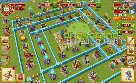Dragon Lords 3D strategy – اربابان اژدها اندروید