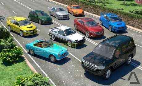 Driving Zone: Japan – بازی منطقه رانندگی، ژاپن