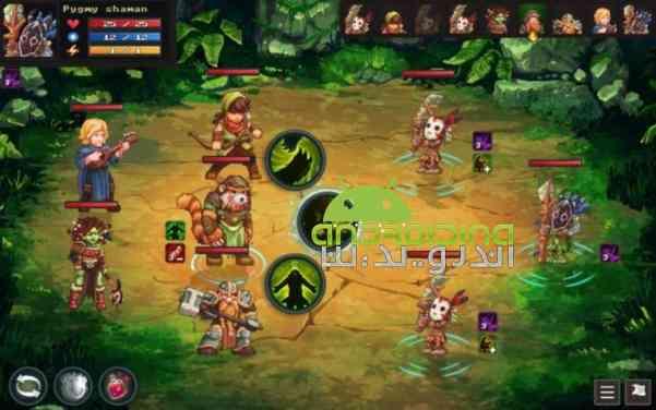 Dungeon Rushers – بازی انلاین مهاجمین سیاه چال اندروید