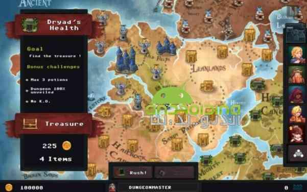 دانلود Dungeon Rushers 1.3.29 بازی انلاین مهاجمین سیاه چال اندروید 2