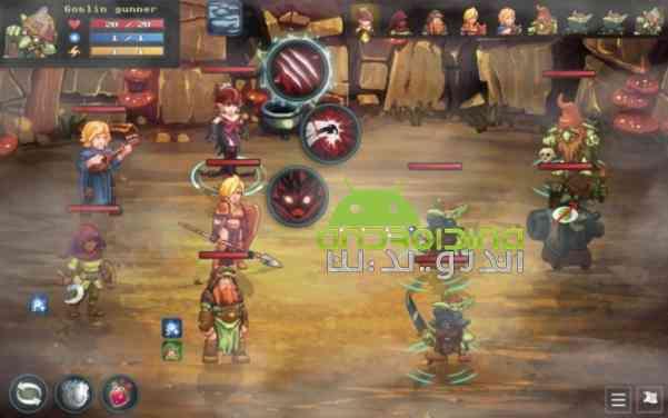 دانلود Dungeon Rushers 1.3.29 بازی انلاین مهاجمین سیاه چال اندروید 4