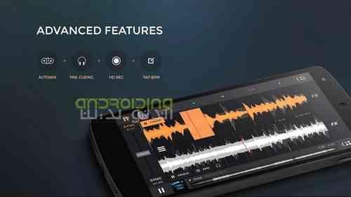 دانلود 1.4.3 edjing PRO – Music DJ mixer برنامه میکس موزیک در اندروید 4