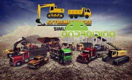 Extreme Trucks Simulator – شبیه ساز ساخت و ساز اندروید
