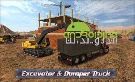 دانلود Extreme Trucks Simulator 1.3.1 بازی شبیه ساز ساخت و ساز اندروید 2
