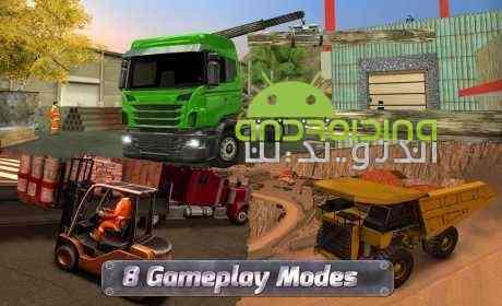 دانلود Extreme Trucks Simulator 1.3.1 بازی شبیه ساز ساخت و ساز اندروید 3