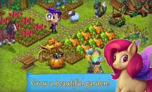 دانلود Fairy Farm 2.9.8 بازی مزرعه پری اندروید + مود 3