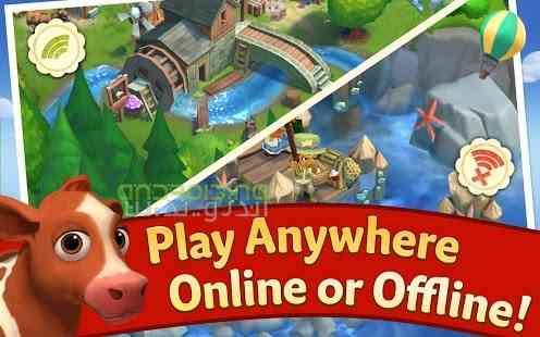 دانلود FarmVille 2 Country Escape 7.5.1529 بازی شهر مزرعه فرار از کشور اندروید 3