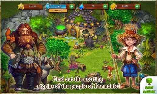 دانلود Farmdale 2.0.6 بازی مزرعه کوچک اندروید 3