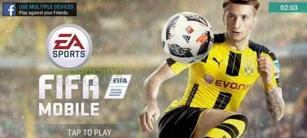دانلود FIFA Soccer 8.1.00 بازی انلاین فوتبال فیفا ساکر اندروید 1